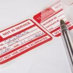 self-laminating peel and seal labels